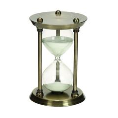 Metal/Glass 30 Minutes Hourglass Half Hour Nautical Ship Sand Timer