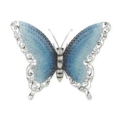 Contemporary Styled Metal Butterfly