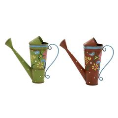 Attractively Designed 2 Assorted Metal Watering Can
