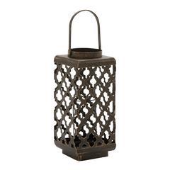 Benzara Enticing Metal Candle Lantern
