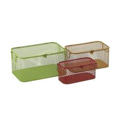 Useful Set Of Three Metal Baskets