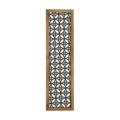 Charismatic Metal Wood Wall Panel