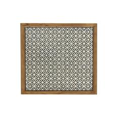 Compelling Metal Wood Wall Panel