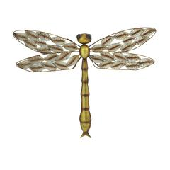 Benzara Gorgeous Looking Metal Dragonfly