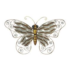 Benzara Beautifully Designed Metal Butterfly