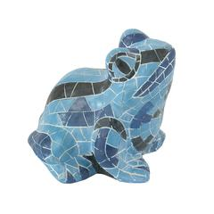 Benzara Striking Blue Frog