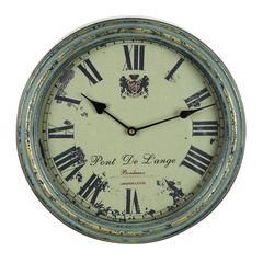 Metal Wall Clock A Vintage Metallic Clock