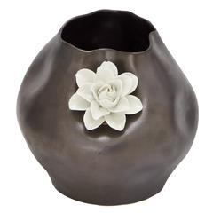 Unique Flower Pattern Ceramic Vase