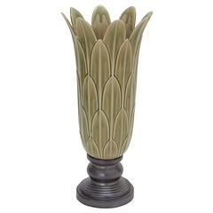 Benzara Magnificent Amazing Ceramic Pedal Vase