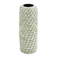 Durable Material Ceramic Intricate Design Seashell Vase