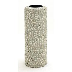 Benzara Fascinating Styled Wood Sea Shell Vase