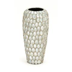 Classy Styled Ceramic Sea Shell Vase