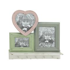 Attractive Wood Wall Hook Photo Frame