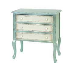 Benzara 33 Inches High Wood Chest For Safe Storage