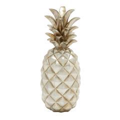 Astounding Silver Pineapple Décor
