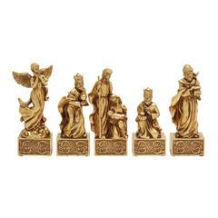 Benzara Set Of 5 Astounding Nativity