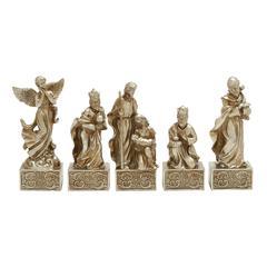 Benzara Marvelous Set Of 5 Nativity