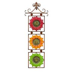 Benzara Metal Sunflower Decor 13 Inches Wide Gift For Every One