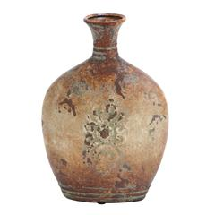 Ceramic Vase With Classic Design In Soft Earthy Colors