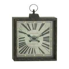 Epoch Metal Led Wall Clock