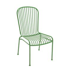 The Evergreen Metal Chair Green