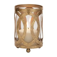 Fantastic Styled Metal Glass Candle Lantern