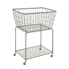 Spectacular Metal Roll Storage Basket