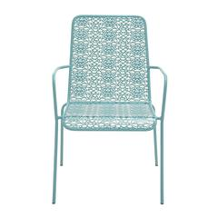 Benzara Innovatively Styled Metal Outdoor Chair