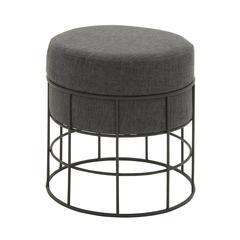 Unique Metal Outdoor Fabric Stool