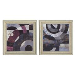 Classy Wood Wall Decorative 2 Assorted