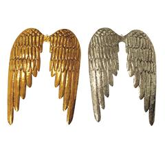"Benzara Angel Wing Wall Decor 2/Assorted 24""H, 17""W"