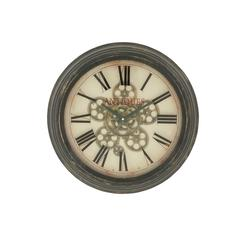 Stylish Vintage Themed Metal Wall Clock
