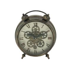 Marvelous Metal Table Clock