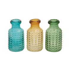 Benzara The Awesome Glass Vase 3 Assorted