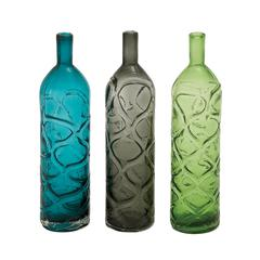 Long And Slender Glass Vase 3 Assorted