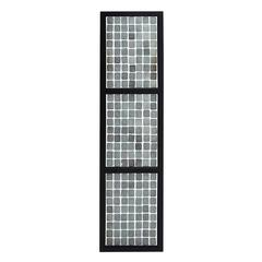 Benzara Amy Princessa Wall Panel With White & Black Stylish Design