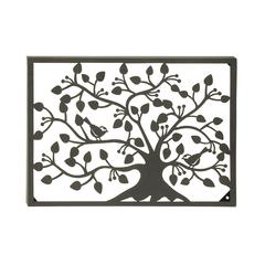 Stunning Metal Outdoor Tree Wall Plaque