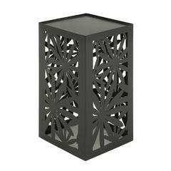 Benzara Classy Metal Outdoor Accent Table