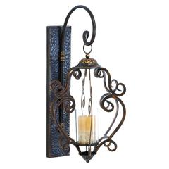 Metal Glass Lantern Best In Wall Mounted Light Collection