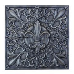 Benzara Exclusive Fleur-De-Lis Themed Wall Plaque Décor
