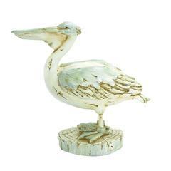 """Benzara Elegant And Classy 46"""" Polystone Pelican With Unique Design"""