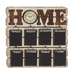 Antique Styled Brilliant Wood Memo Clock
