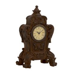 Benzara Vintage Well Designed Ceramic Table Clock