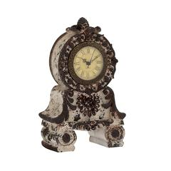 Benzara Unique Styled Fantastic Ceramic Table Clock