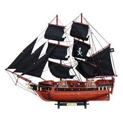 Benzara Wood Pirate Ship A Wonderful Pirate Decor