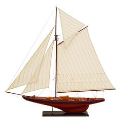 Wood Ship For Unique Nautical Decor Blend