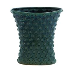 Benzara Weather Resistant Ceramic Crackled Vase With Easy To Use Facility