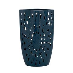 The Boundless Ceramic Blue Vase