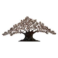 Metal Wall Tree Decor For Special Liking For Nature