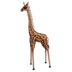 Metal Giraffe Can Be Used In House And Office Both